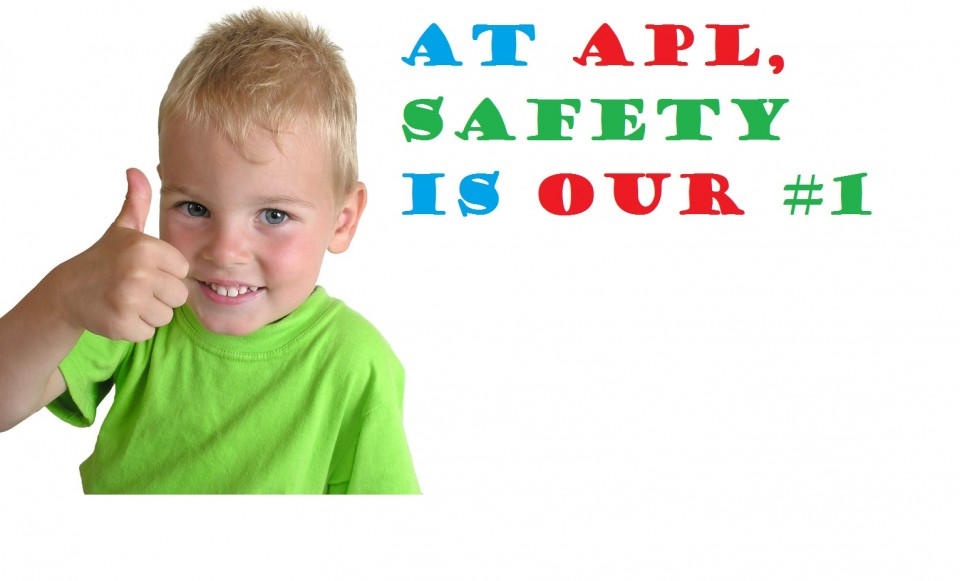 at apl safety is our number 7